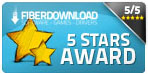 Five stars on Fiberdownload