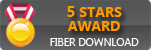 Rated 5 stars at FiberDownload