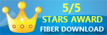 5/5 Stars Award Fiber Download
